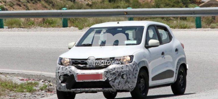 Το νέο Renault Kwid 2019 σε δοκιμές στην Ισπανία (spy pics)