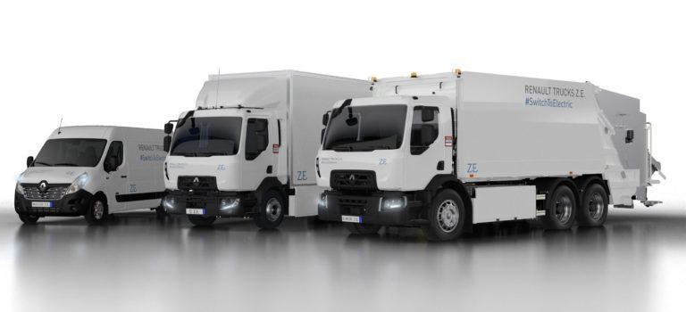 Η Renault Trucks παρουσιάζει νέα γενιά ηλεκτροκίνητων φορτηγών