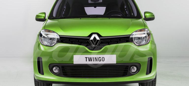 Renault Twingo III Facelift [Rendering]