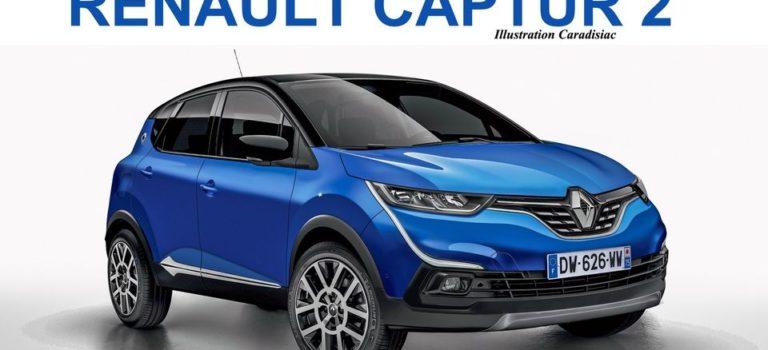 Renault Captur II 2020 [Rendering]