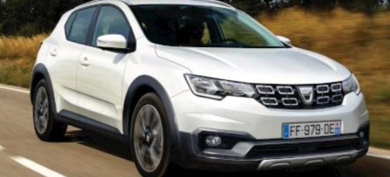 Dacia Sandero III 2019 [Rendering]