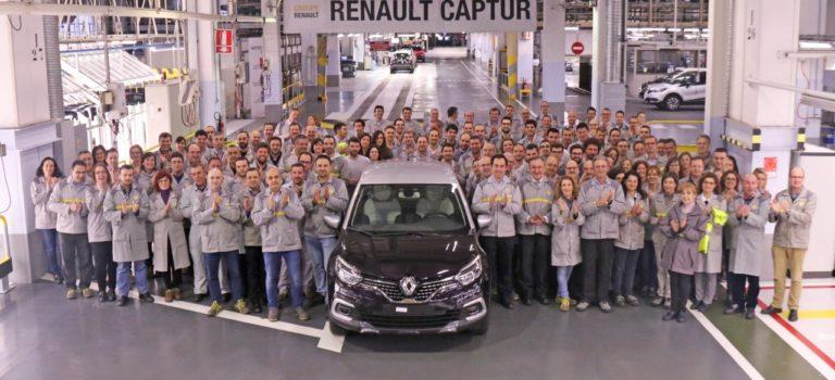 Ισπανία | Η επιτυχία του Captur επιτρέπει στη Renault να κρατήσει την τρίτη βάρδια στο Βαγιαδολίδ