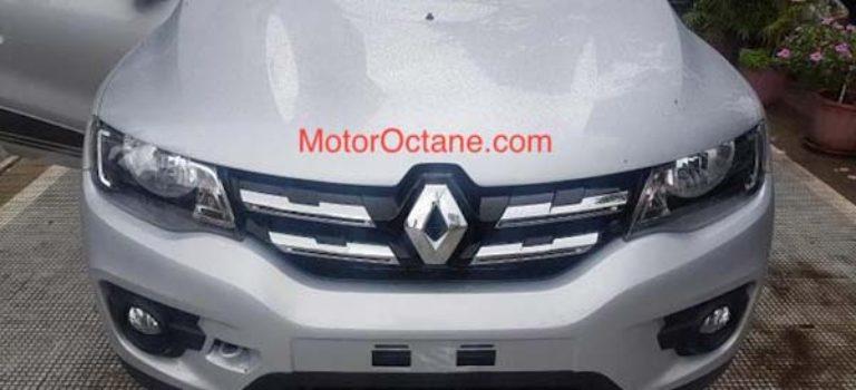 Το Renault Kwid Facelift εντοπίστηκε στην Ινδία (spy pics)