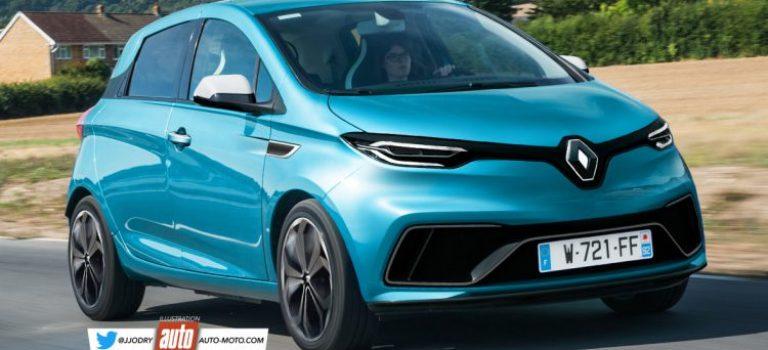 Renault ZOE II (2019): στόχος 600 χλμ αυτονομίας [Rendering]