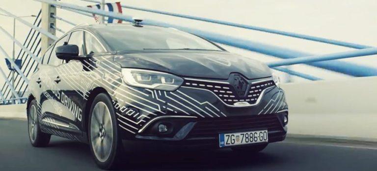 Η Rimac τεστάρει την αυτόνομη οδήγηση σε ένα Renault Grand Scénic