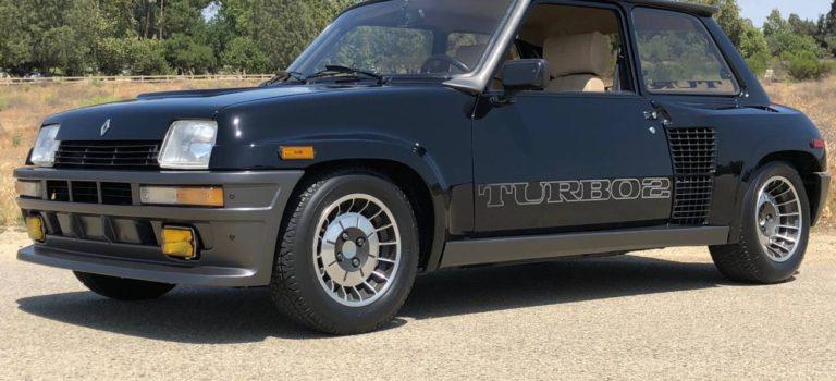 Στην Καλιφόρνια πωλείτε Renault R5 Turbo 2 Evolution με 22.000 χιλ. (pics)