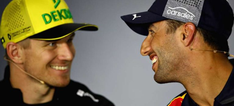 F1 | Ο Hulkenberg βλέπει «μόνο θετικά» έχοντας τον Ricciardo στη Renault