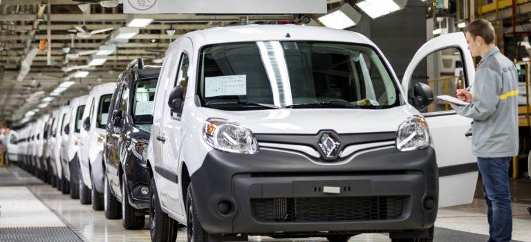 Προσωρινή παύση της παραγωγής για τα Renault Kangoo και Koleos
