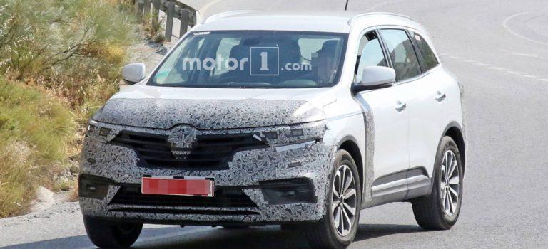 Renault Koleos Facelift 2019 (Spy pics)