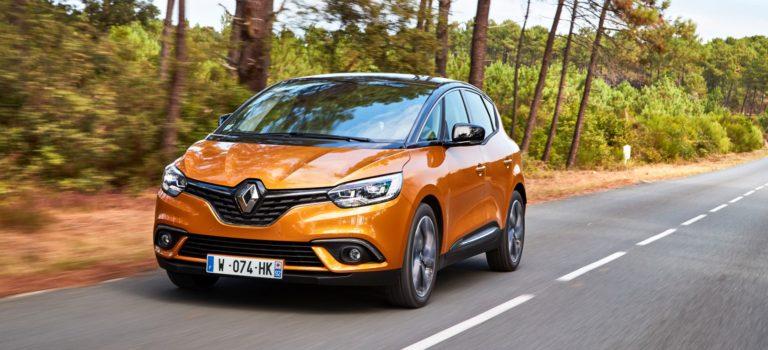 Γαλλία: Διαθέσιμο με τον νέο 1.7 Blue dCi το Renault Scénic