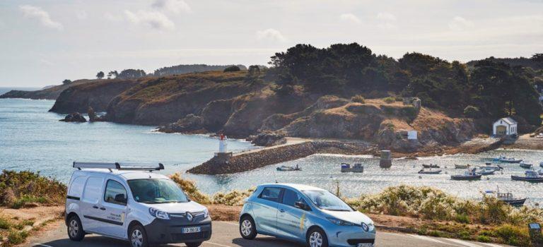 Η Renault παρουσιάζει το πρώτο «έξυπνο νησί» της Γαλλίας στο Belle-Île-En-Mer