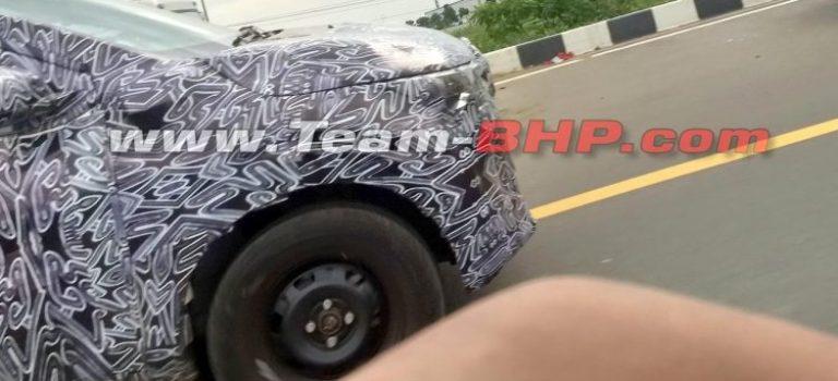 Το νέο MPV της Renault με βάση το Kwid σε νέες δοκιμές στην Ινδία (spy pics)
