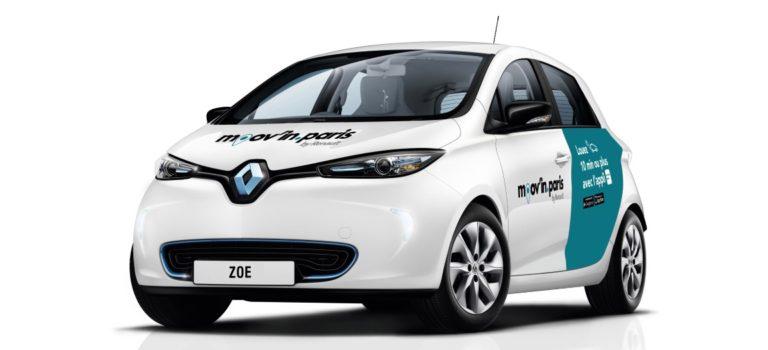 """Η Renault λανσάρει την εφαρμογή """"Moov'in.Paris by Renault"""""""