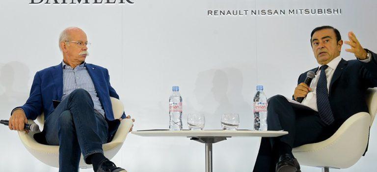 Renault και Daimler είναι έτοιμες να εμβαθύνουν τη συνεργασία τους