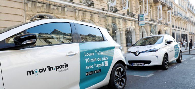 Ανοιχτή προς το κοινό η νέα υπηρεσία κινητικότητας Moov'in.Paris από τη Renault