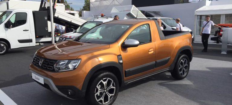 Ανεξάρτητος Ρουμάνος κατασκευαστής παρουσιάζει το πρωτότυπο Dacia Duster ΙΙ Pick-up