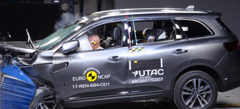 Το Renault Koleos (2018) απέσπασε νέα αξιολόγηση ασφάλειας 5 αστέρων στο ANCAP