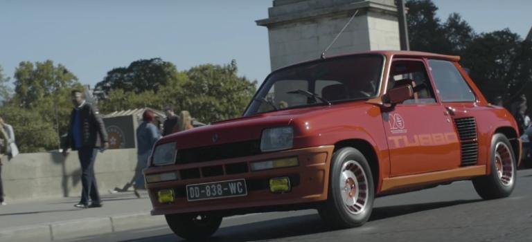 Η παρέλαση των κλασικών οχημάτων της Renault, στους δρόμους του Παρισιού (vid)