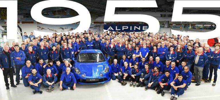 Η Alpine ολοκληρώνει την παραγωγή της ειδικής έκδοσης A110 Première Édition