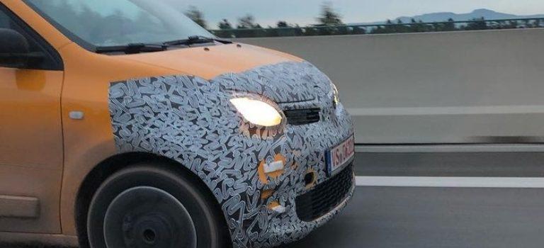 Η facelift έκδοση του Renault Twingo ξανά σε δοκιμές (spy pic)