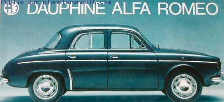 {Stories} Alfa Romeo Dauphine και Ondine: η Renault στα ιταλικά