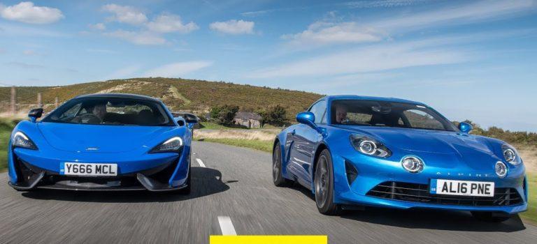Alpine A110 vs McLaren 570S – Ποιο είναι το απόλυτο αυτοκίνητο ενός οδηγού;