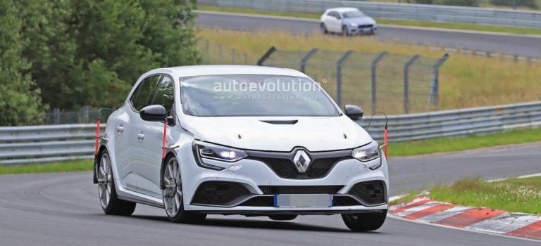 Το Renault Megane RS Trophy κυνηγά το ρεκόρ του Nurburgring (vid)