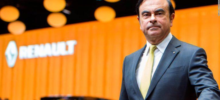 Στο πλευρό του Ghosn η Renault