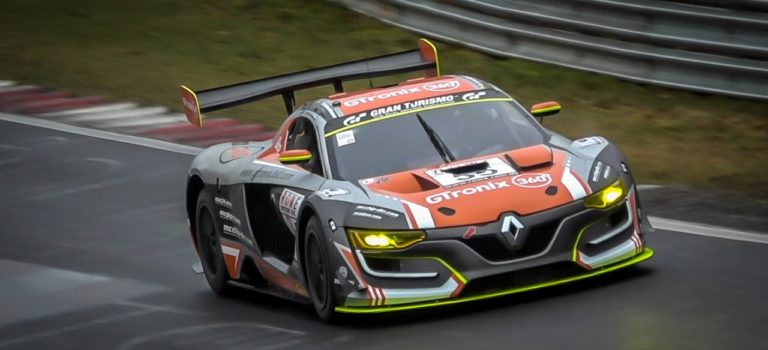 Renault RS01 vs Mercedes AMG GT3, επική μάχη στο Nürburgring (vid)