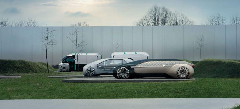 Τα τρία πρωτότυπα αυτοκίνητα Renault EZ-GO, EZ-PRO και EZ-ULTIMO κερδίζουν το 1ο βραβείο του περιοδικού CAR STYLING