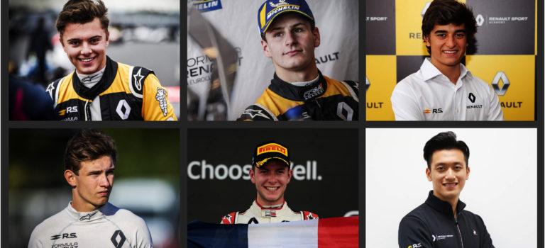 Ανακοινώθηκαν οι οδηγοί της Renault Sport Academy για το 2019