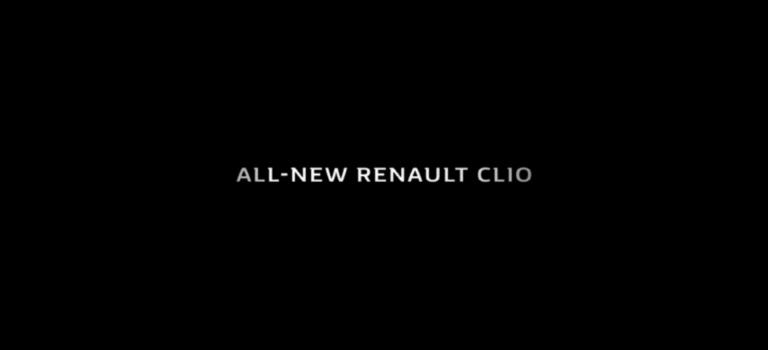 Στις 28 Ιανουαρίου η παρουσίαση του Renault CLIO (vid)