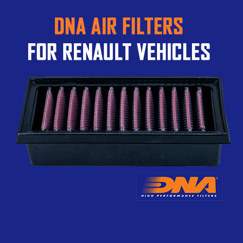 DNA Air Filters for Renault Vehicles